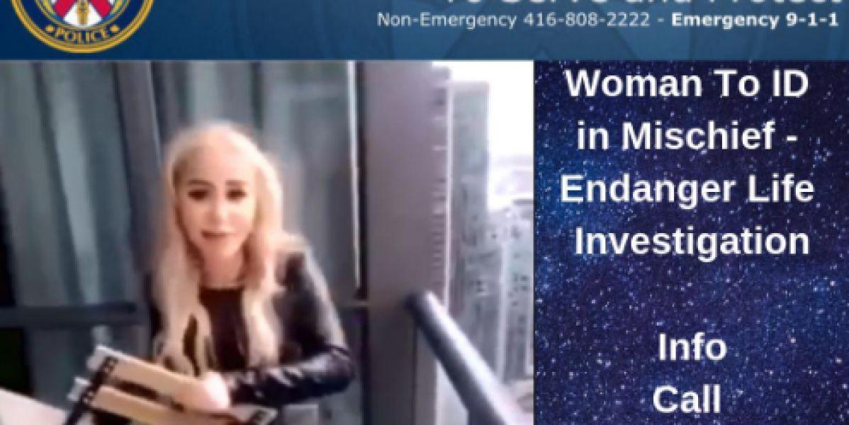 Imagen de la influencer de Canadá que ha sido detenida