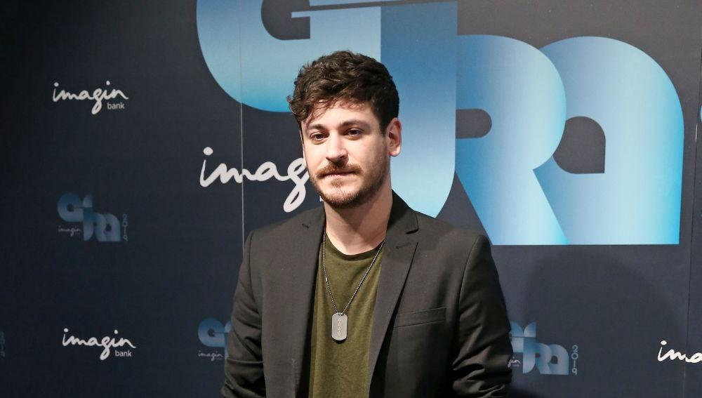 El cantante Luis Cepeda