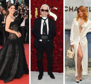 Katy Perry, Penélope Cruz, Rihanna y Lady Gaga vestidas por Karl Lagerfeld