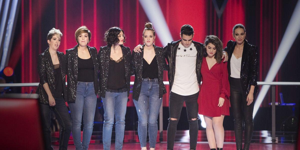 La Voz - Asaltos 2 - Antonio Orozco roba a Les Fourchettes los talents de Paulina