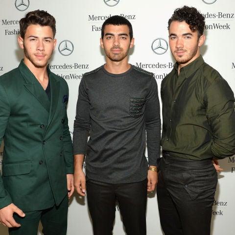 Los Jonas Brothers en 2014