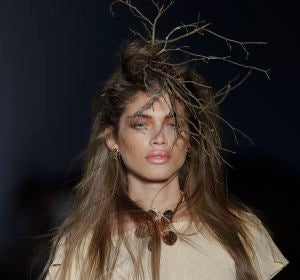 Valentina Sampaio en la New York Fashion Week