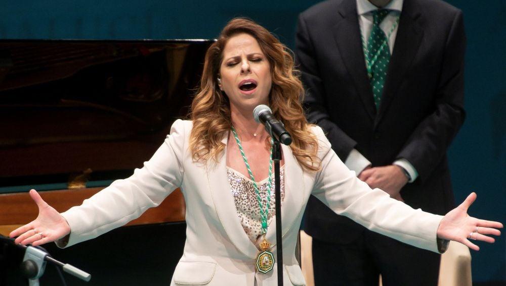 La cantante Pastora Soler