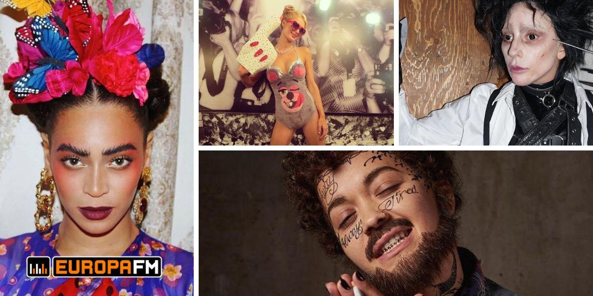 Los espectaculares disfraces de Beyoncé, Paris Hilton, Lady Gaga y Rita Ora