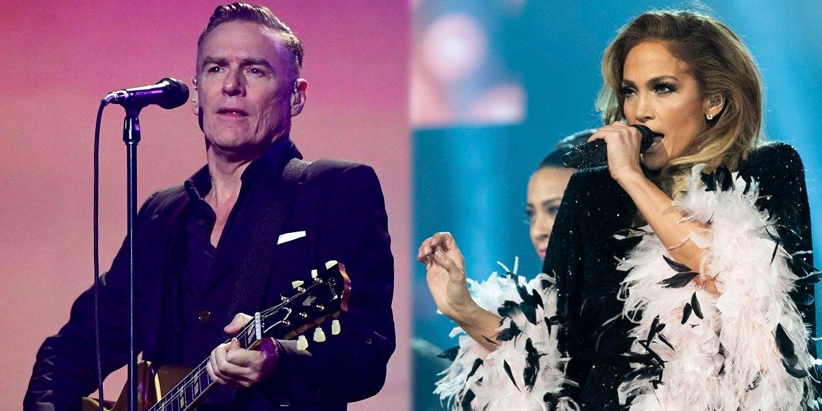 Bryan Adams y Jennifer Lopez