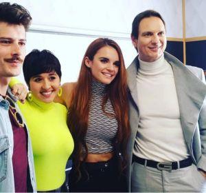 Melody junto a Javier Cárdenas, Alejandra Castelló y Alberto Peñarroya
