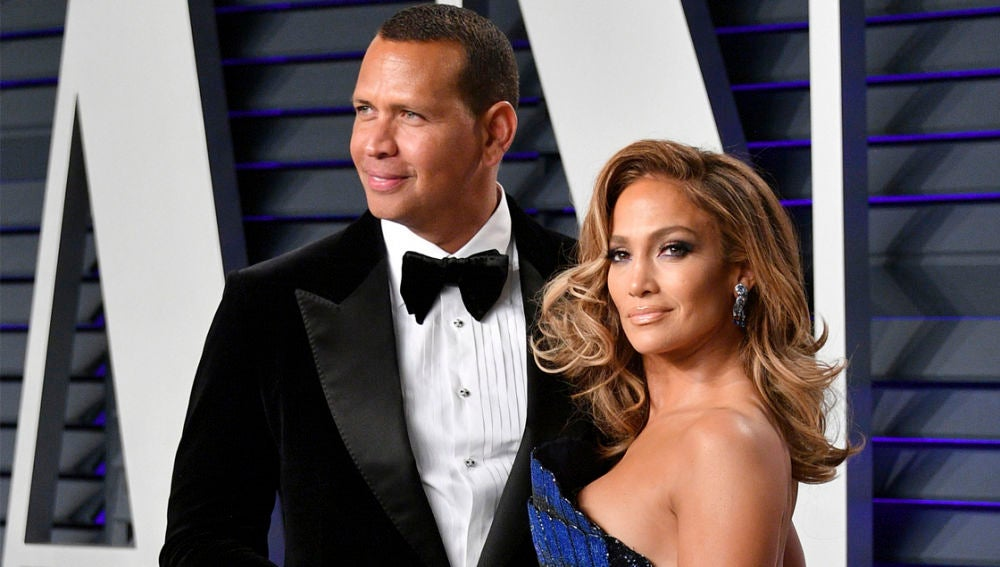 Jennifer Lopez y su futuro marido Alex Rodriguez