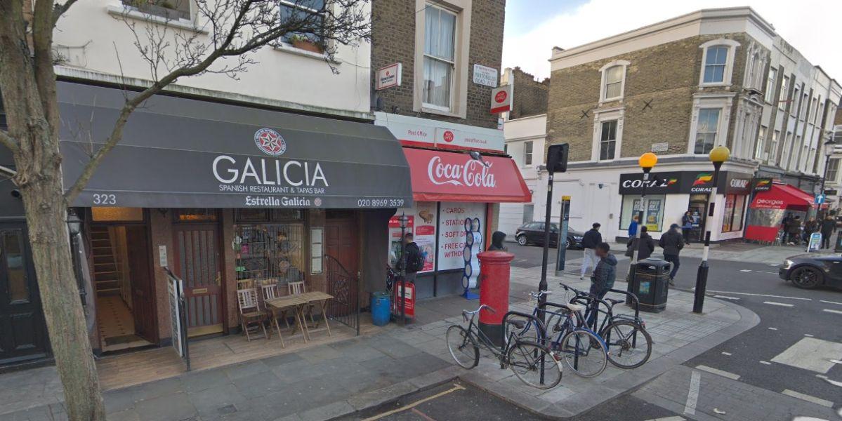 Restaurante 'Galicia' en Londres.