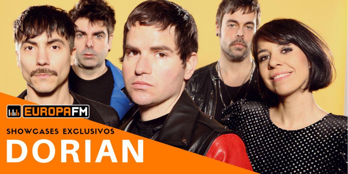 Showcases exclusivos de Dorian con Europa FM