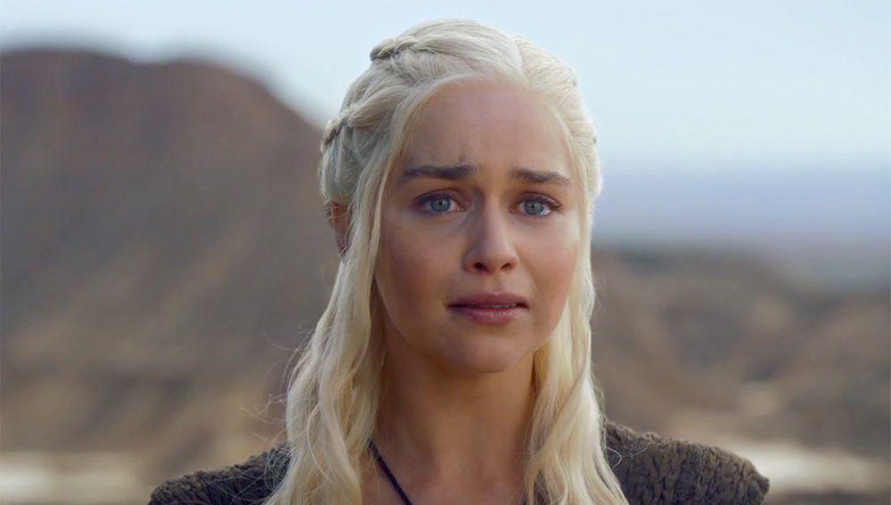 Emilia Clarke en 'Juego de Tronos'