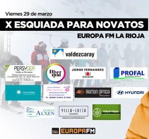 X Esquiada para novatos de Europa FM La Rioja