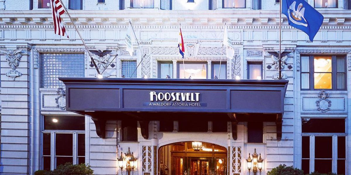 The Roosevelt Hotel, Nueva Orleans