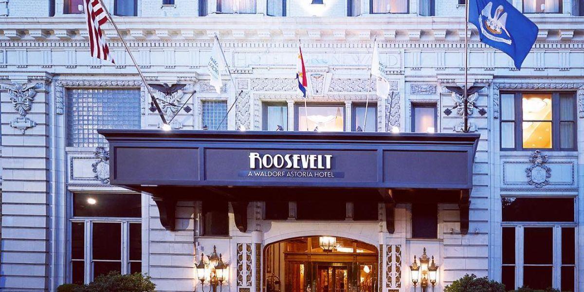 The Roosevelt Hotel, Nueva Orleans
