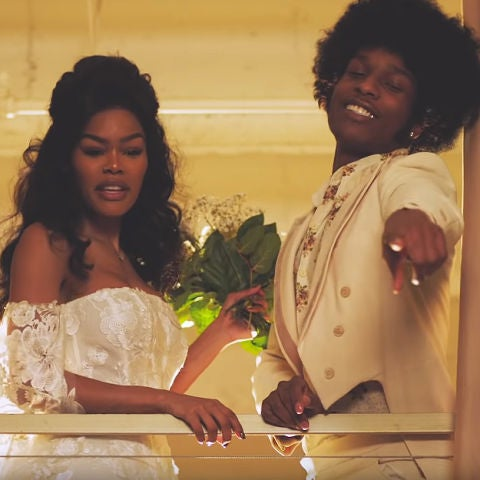 Teyana Taylor y A$AP Rocky en el vídeo de 'Issues/Hold On'
