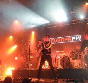 Imagen de archivo: Dorian durante el showcase con Europa FM en Barcelona