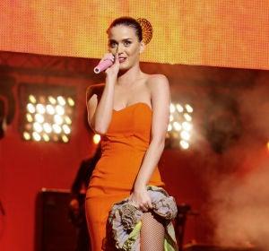 Katy Perry vestida de flamenca en los Premios Ondas