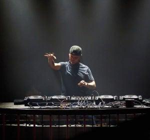 El DJ sueco Avicii durante una actuación