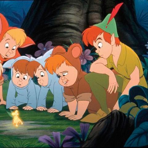 Niños perdidos de 'Peter Pan'