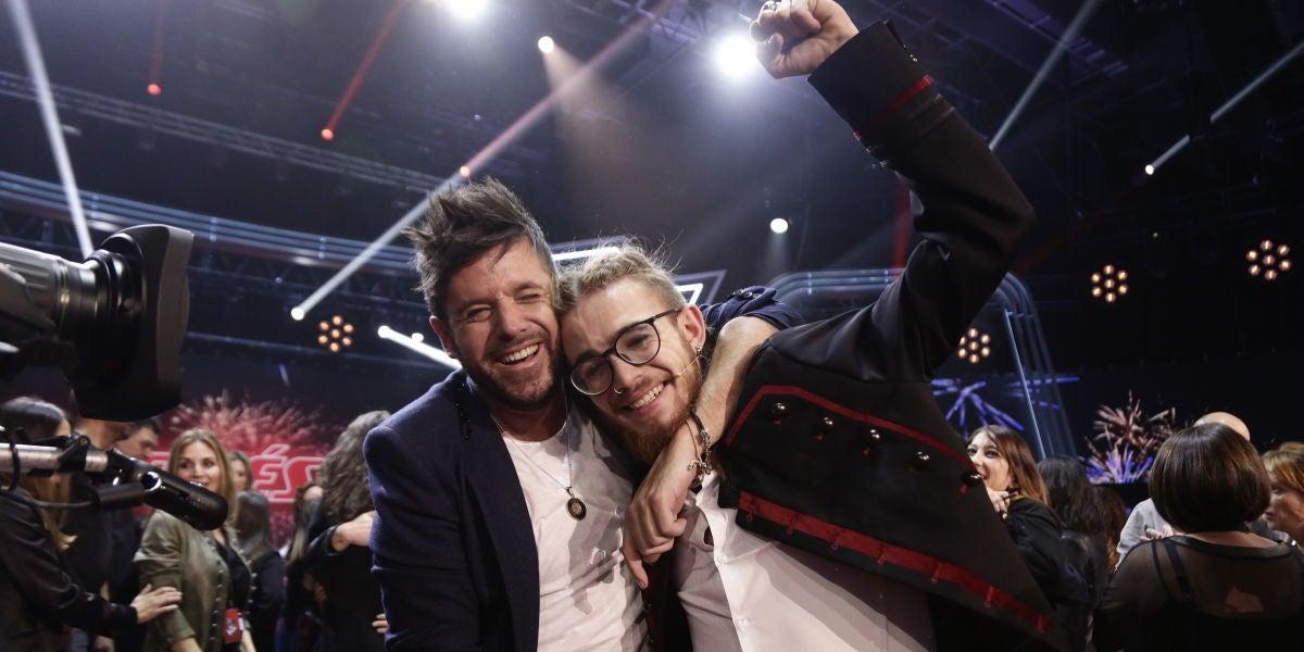 Las primeras palabras de Andrés Martín tras alzarse con la victoria en la gran Final de 'La Voz'