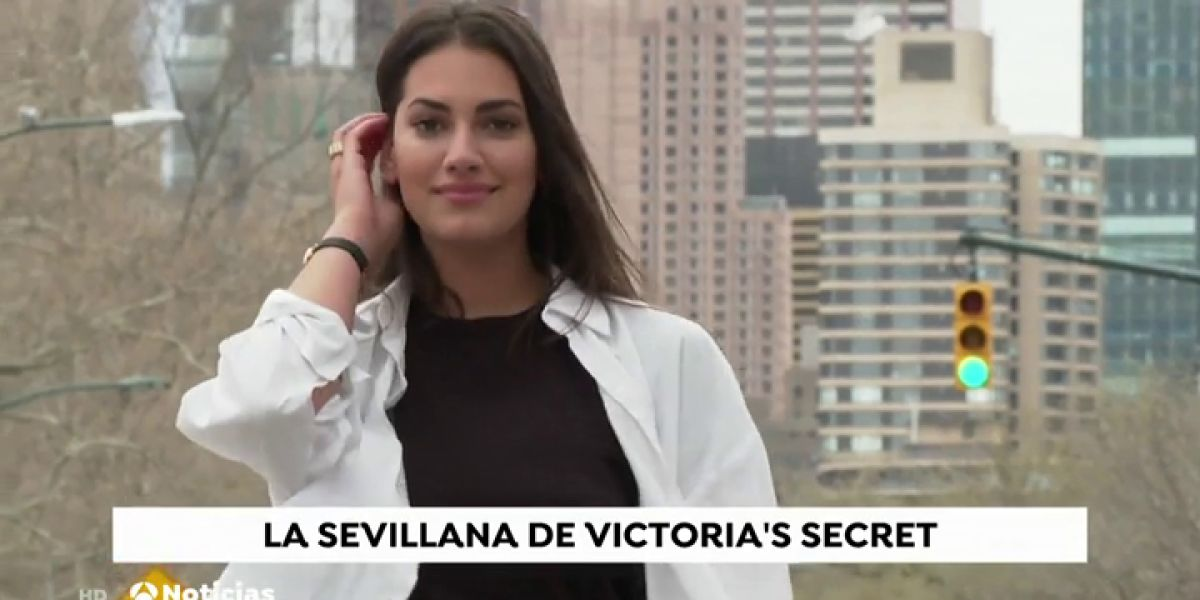 """Así es la sevillana Lorena Duran, la primera modelo de tallas grandes de Victoria Secret: """"No porque seas 'curvy' eres menos modelo"""""""