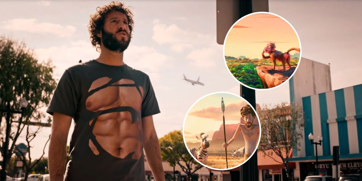 Lil Dicky en el vídeo de su tema 'Earth'