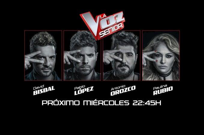 La Voz Senior - 'La Voz Senior' se estrena el próximo miércoles a las 22:45 horas en Antena 3