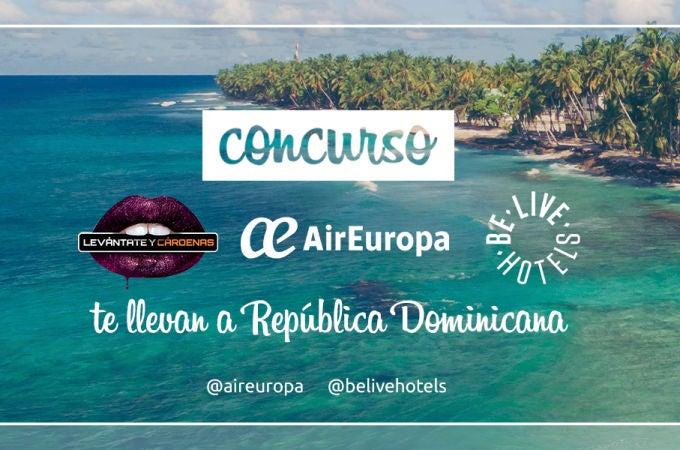 Levántate y Cárdenas, Air Europa y Be Live Hoteles te llevan a República Dominicana