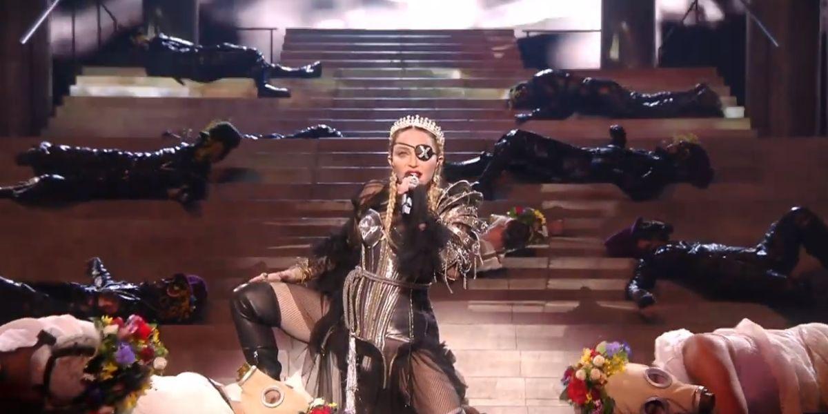 Actuación de Madonna en el festival de Eurovisión 2019