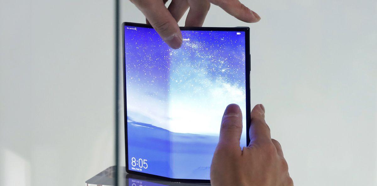 Móvil plegable Huawei Mate X