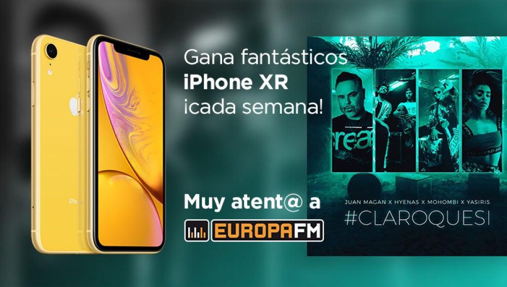 Gana fantásticos iPhone XR con Europa FM