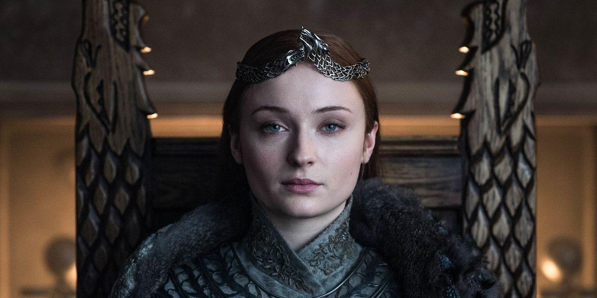 El vestido de Sansa Stark en el final de 'Juego de Tronos'