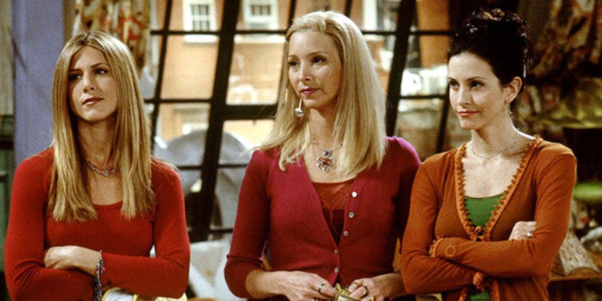 Rachel, Phoebe y Mónica en 'friends'