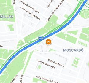 Visualiación de radar fijo en 'Google Maps'