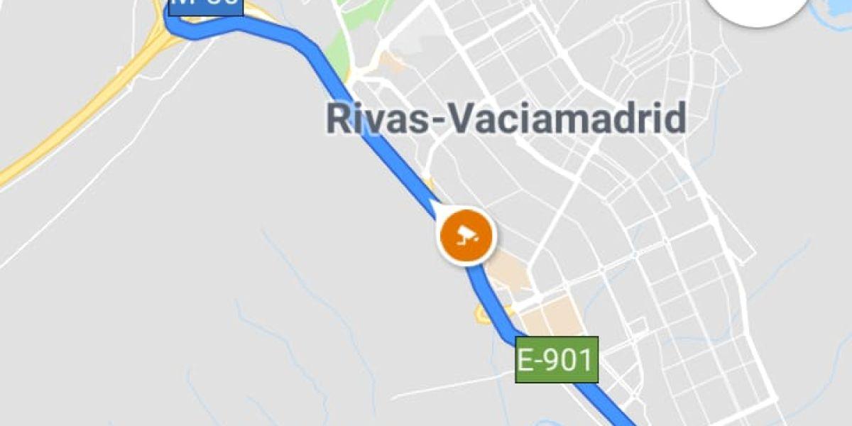 Radar fijo en la aplicación Google Maps