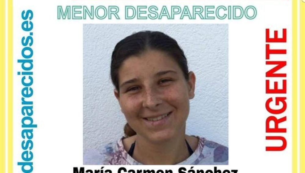 Menor desaparecida en Osuna