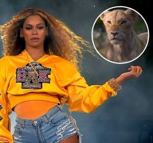 Beyoncé como Nala