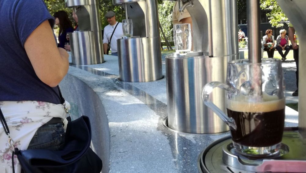 Fuente de cerveza