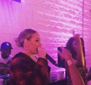 Adele rapeando 'Monster' de Nicki Minaj