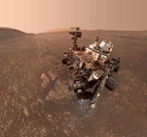 El 'selfi' del astromóvil Curiosity en Marta. 20-06-2018.