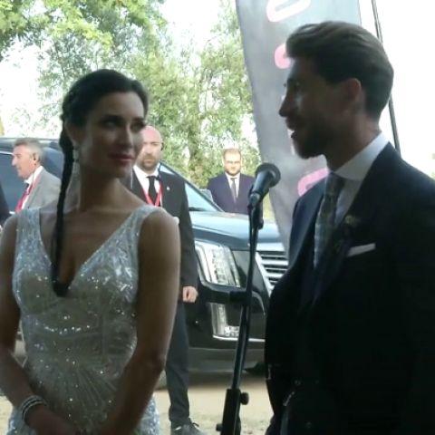 "Sergio Ramos, tras casarse con Pilar Rubio: ""He estado en muchas bodas pero ninguna como esta"""
