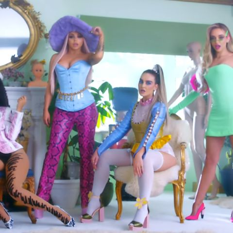 Little Mix son muñecas en su vídeo de 'Bounce Back'