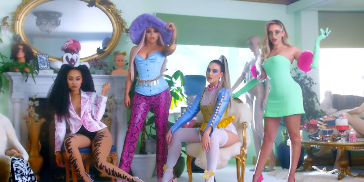 Little Mix son muñecas en su vídeo de 'Bounce Back'