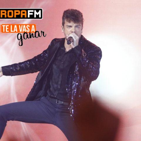 Ricky Merino en 'Te La Vas A Ganar Celebrities'