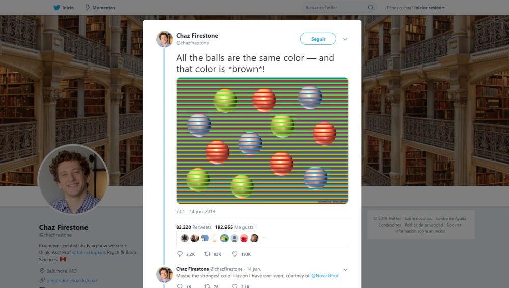 Test visual de las esferas