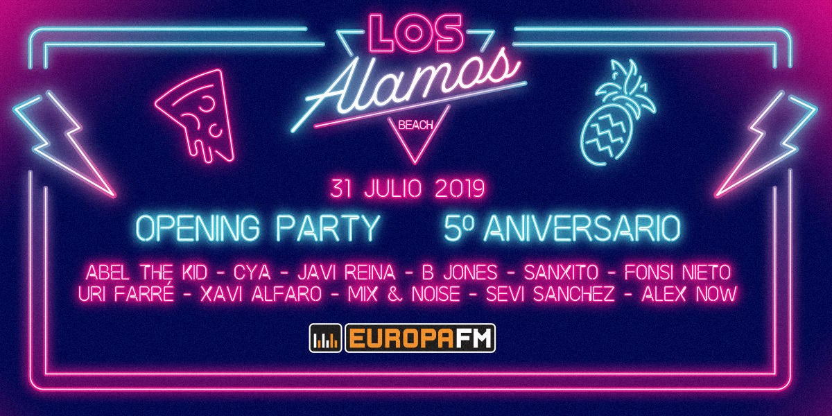 Opening Party Los Álamos Beach Festival