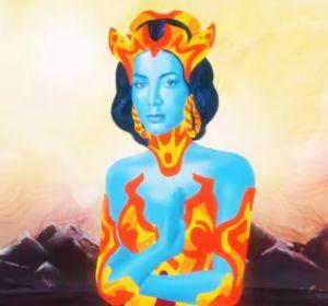 Annita en el vídeo de 'Make it Hot'