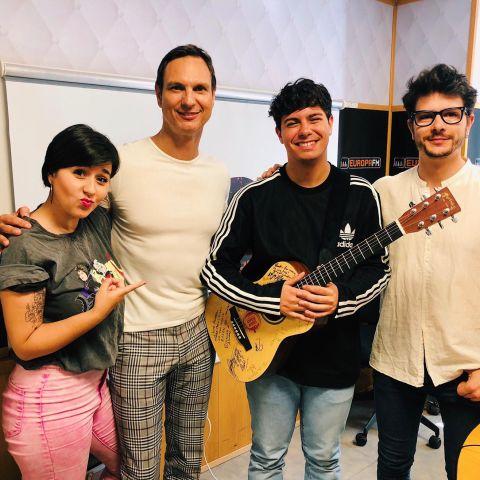 Alejandra Castelló, Javier Cárdenas, Alfred García y Alberto Peñarroya