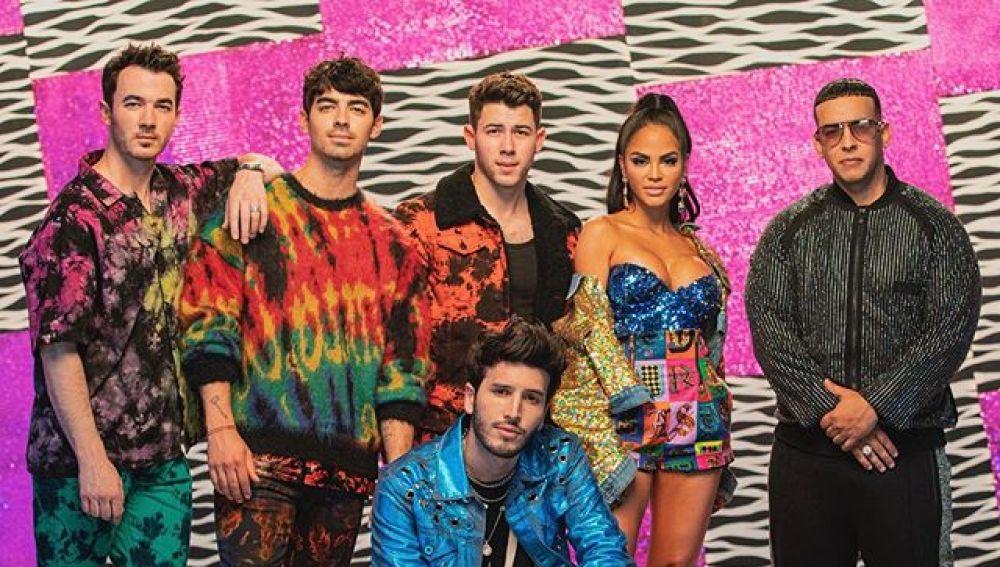 Sebastian Yatra, Jonas Brothers, Natti Natasha y Daddy Yankee
