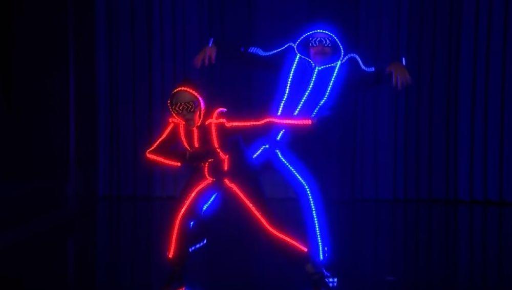 Madonna y Jimmy Fallon en The Tonight Show