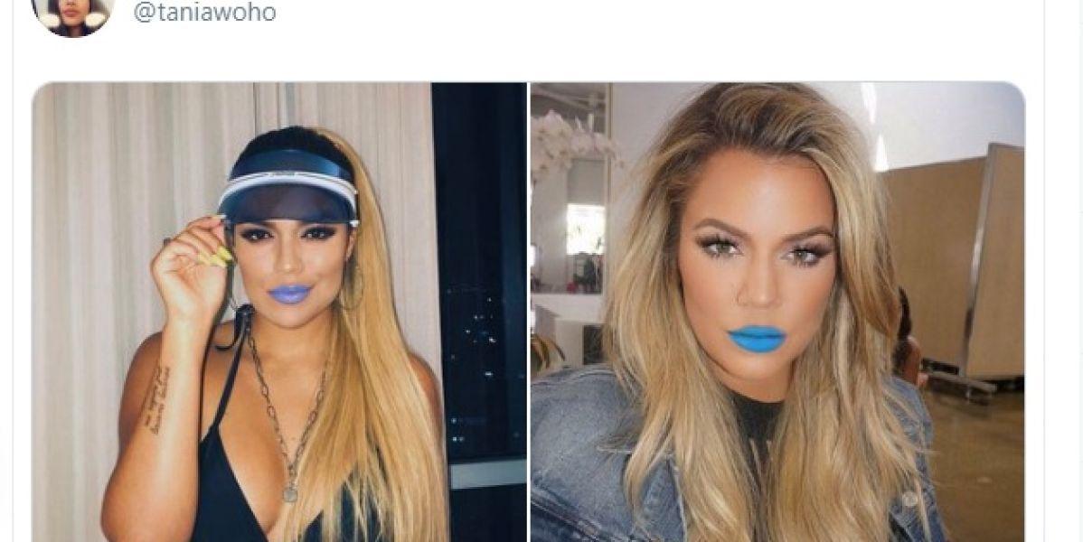 El hilo de Twitter que demuestra que Karol G y Khloé Kardashian son la misma persona